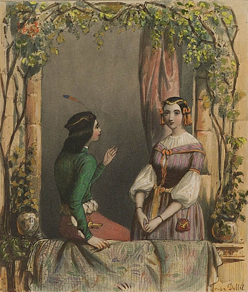 romeo and juliet shakespeare painting