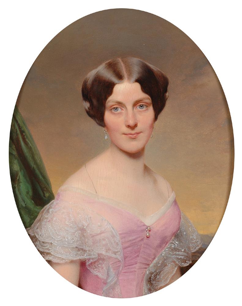 Портрет супружеской пары Франца EYBL, 1851