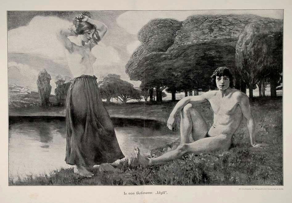 Idyll Ludwig Von Hofmann, 1908