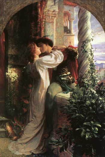 Romeo and Juliet by Sir Frank Dicksee